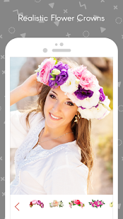 Wedding Flower Crown Photo- screenshot thumbnail