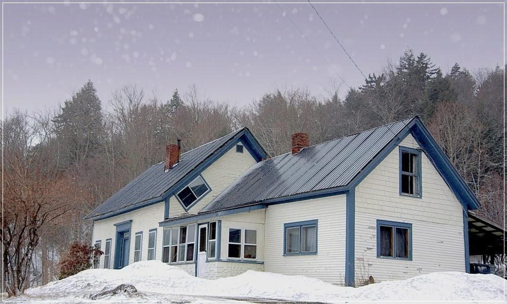 As janelas de bruxa de Vermont
