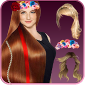 Stylish Girls Hair Changer -Trendy Girl Hairstyles