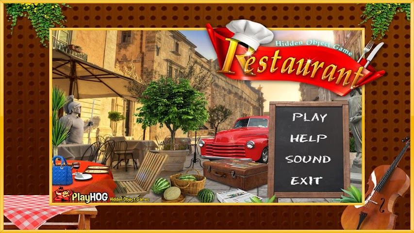 android Restaurant Find Hidden Object Screenshot 2