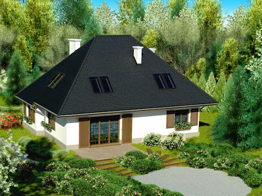 projekt Dom przy Ciepłej
