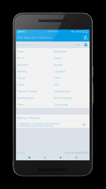 Flat Style Bar Indicators Screenshot