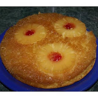 Pineapple Madeira Upside-Down Cake.