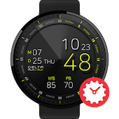 Run Fly watchface by Delta