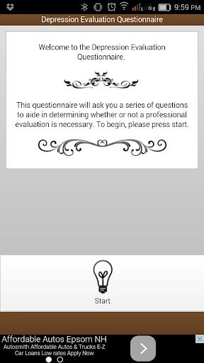 Depression Eval Questionnaire