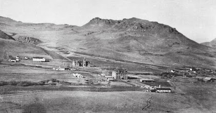 Photo: Photo of mission taken between 1896 and 1908 - Compare to previous photo (not exactly the same vantage point).
