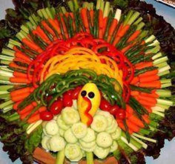 Fun Turkey Relish Tray