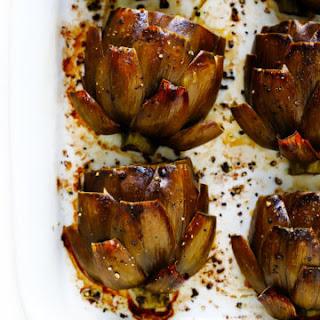 The Most Amazing Roasted Artichokes Recipe