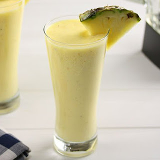Pineapple & Mango Smoothie.