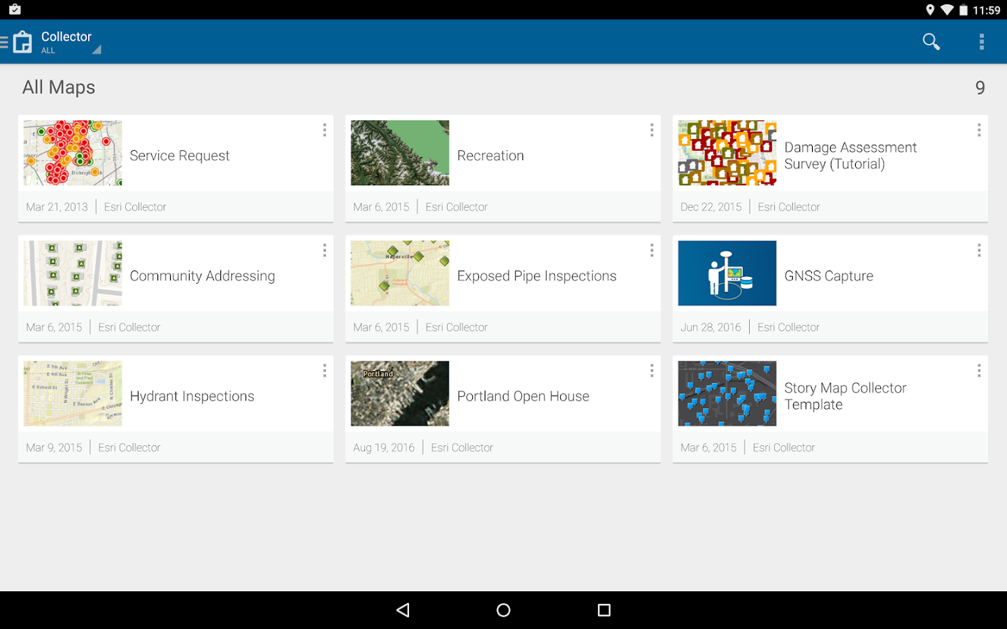 Collector for ArcGIS- screenshot
