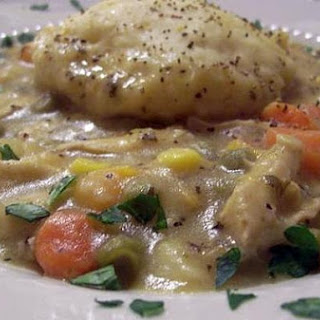 Nostalgic Chicken and Herbed Dumplings