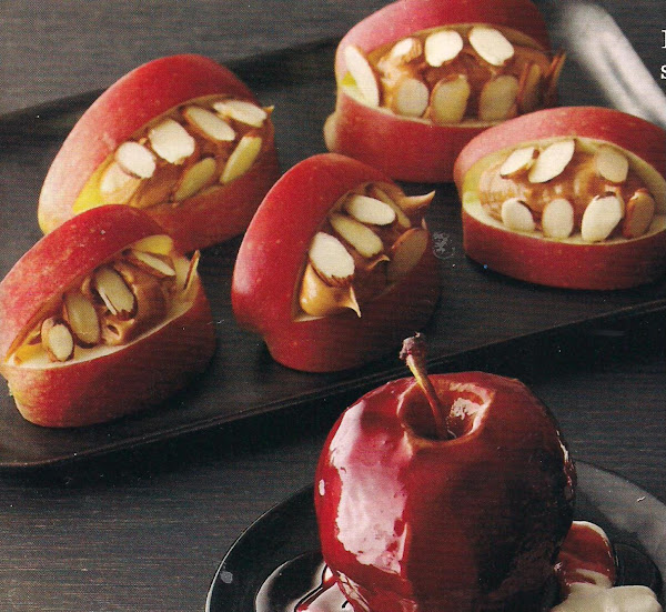 Scary Apple Mouths Recipe