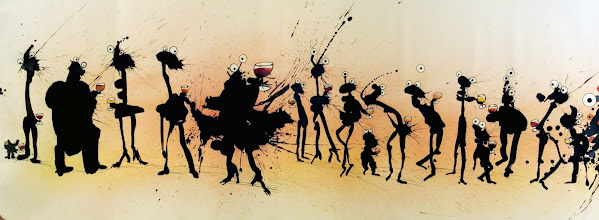 Photo: STEADMAN Ralph (Angleterre UK) - <Crowd scene party> - <Scène de la foule en fête>