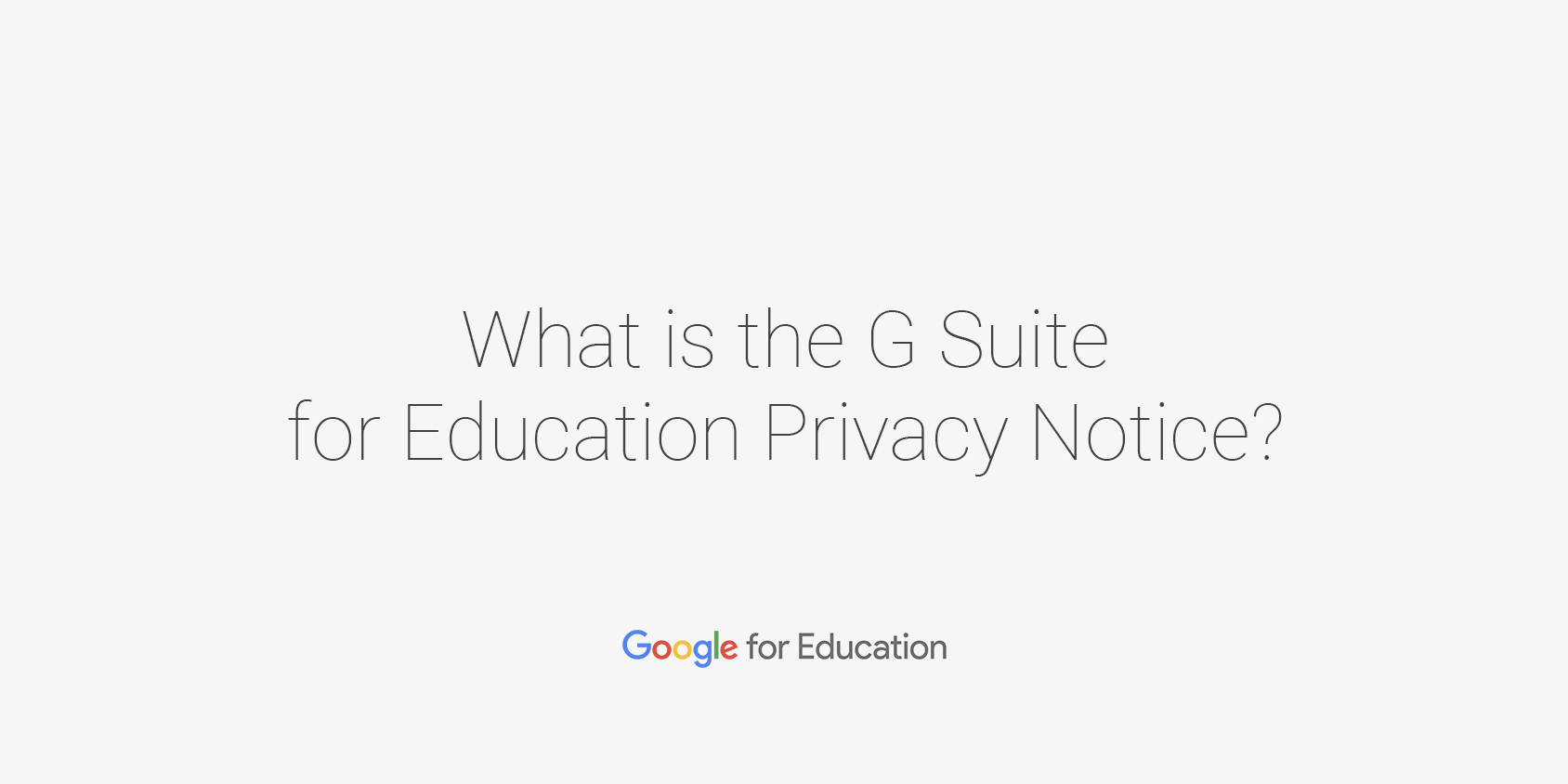 Privacy security google for education privacy notice and contractual obligations xflitez Images