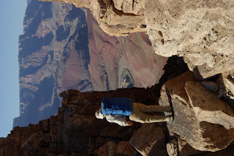 Photo: Saddle Mountain to Bright Angel backpack trip, Grand Canyon National Park, Arizona