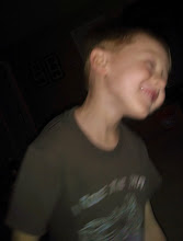 Photo: Did the grandparents thing last night and babysat. Here's the goofy kid being goofy.