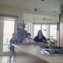 Photo: title: Julia Stutts, Jeff, Zoe + Conrad Schweiger, Miami Beach, Florida date: 2012 relationship: friends, art, met through Sura Levine years known: 0-5