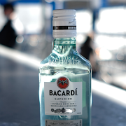 Bacardi White Rum (200 mL)