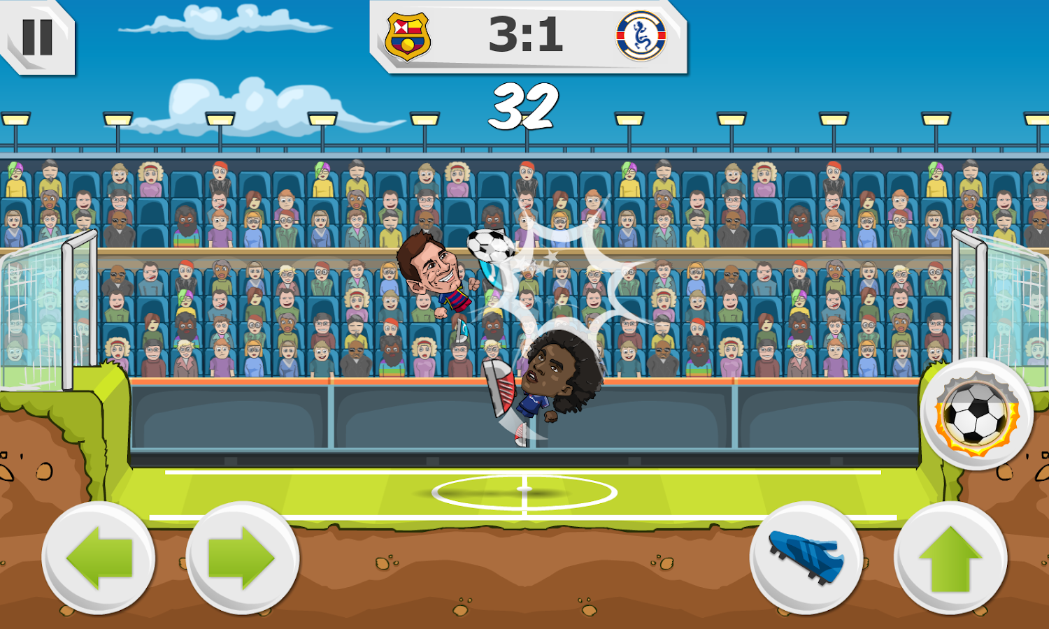 Y8 Football League Sports Game- screenshot
