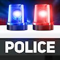 Police sound siren simulator icon