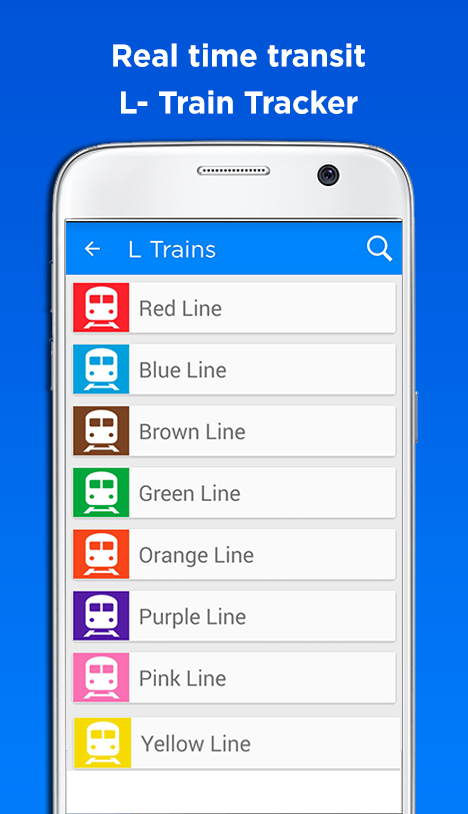 Chicago Cta Transit Tracker Android Apps On Google Play