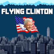 Flying Clinton