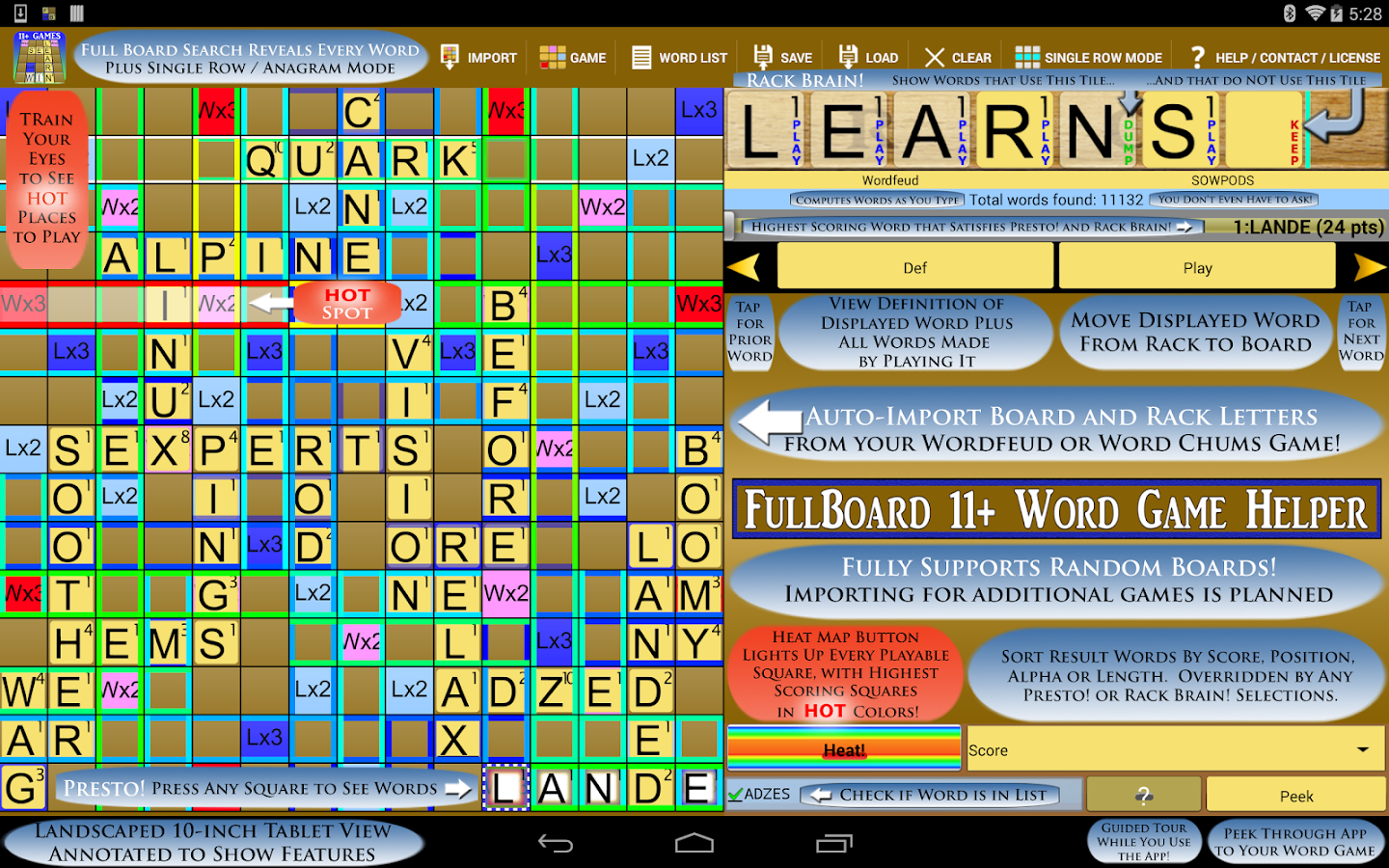 Word Solver 4 Friends +10 Paid- screenshot