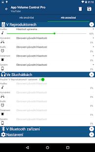 App Volume Control Pro - náhled