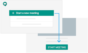 Start a meeting from web