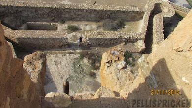 Photo: Ingalill avstog dock från att klättra upp i tornet