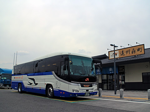 JR東海バス「新東名スーパーライナー9号」 747-15958 遠州森町PAにて その1
