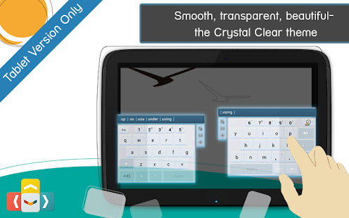 ai.type Crystal Clear Keyboard- screenshot thumbnail