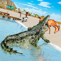 Angry Crocodile Attack Game icon