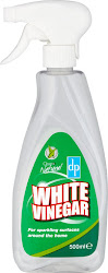 Clean & Natural White Vinegar Cleaning Spray - 500ml