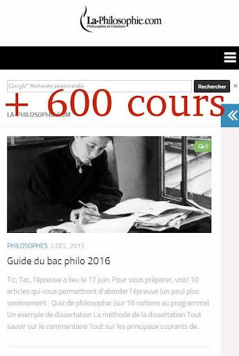 Philosophie Cours Citations