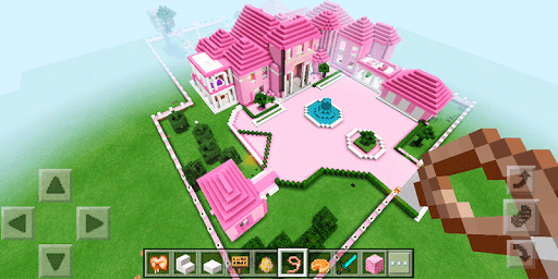 Pink Dream House. Map for MCPE for PC
