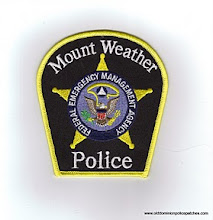 Photo: United States Federal Emergency Management Agency Police at Mount Weather