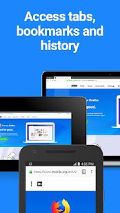 Firefox Browser fast & private Screenshot