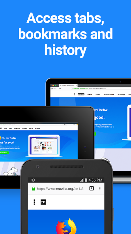 Firefox Browser fast & private screenshots