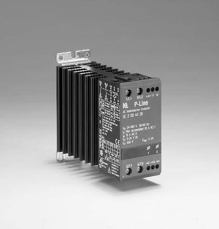 STATISK KONTAKTOR 1-FAS. 5-24VDC 30A, 24-480VAC