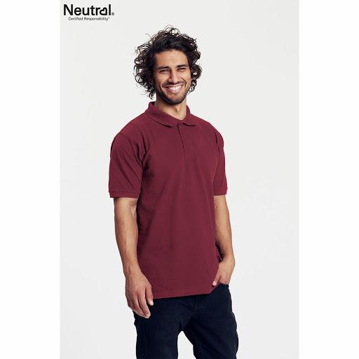 Neutral Organic Fair Trade Polo Shirt Black