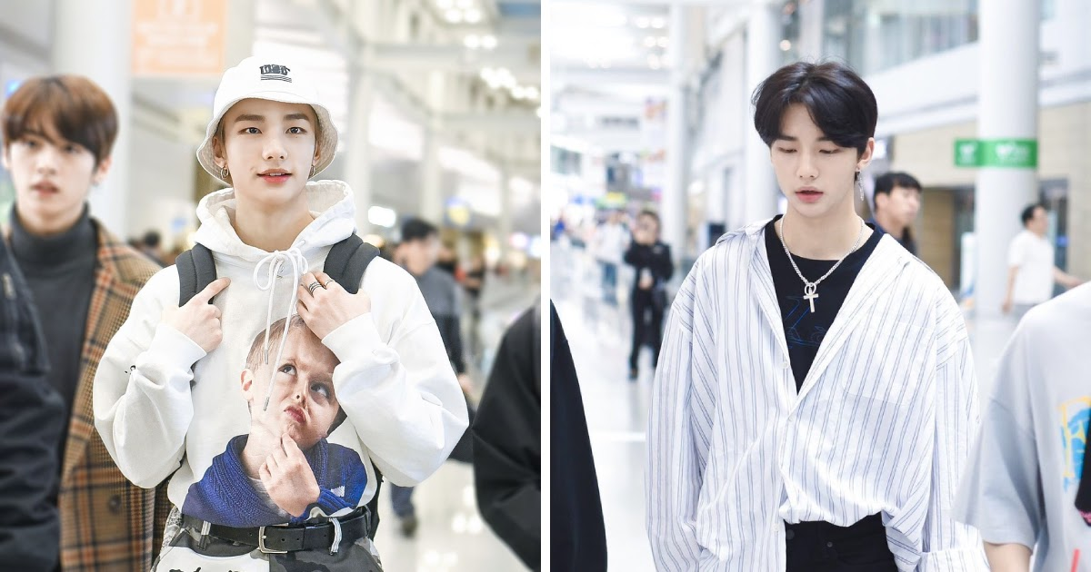 10 Times Stray Kids Hyunjin Proved He S Developed The Perfect Style With His Airport Outfits Koreaboo