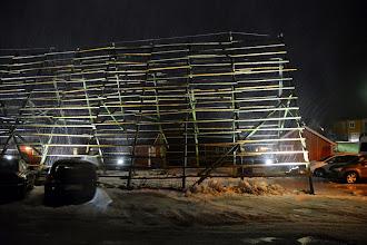 Photo: Stockfish drying racks