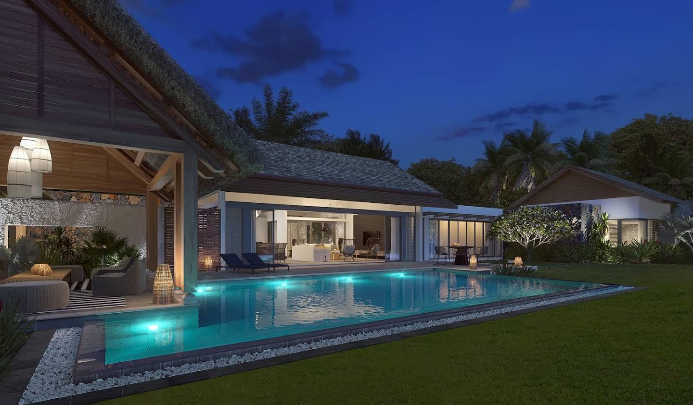 Seaside villa with pool Tamarin
