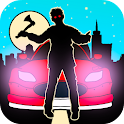 Car zombie games for kids free icon
