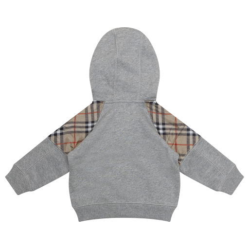 Thumbnail images of Burberry Hooded Zip Up Top