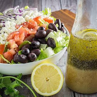 Best Greek Salad Dressing & Greek Salad.