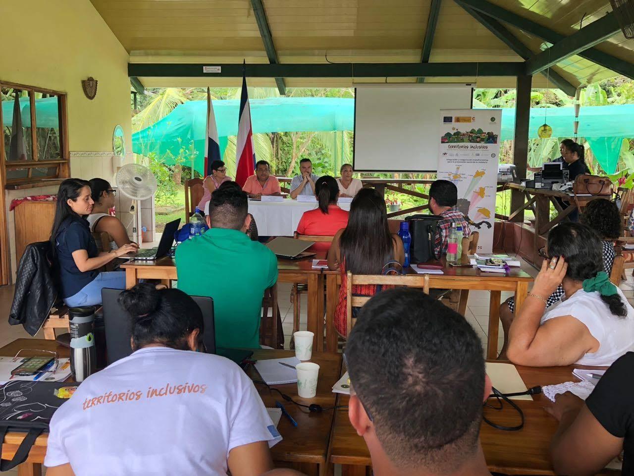 DIPLOMADO REGIONAL SOBRE PREVENCIÓN DE LA VIOLENCIA SE IMPARTE EN TERRITORIOS TRANSFRONTERIZOS DE COSTA RICA Y PANAMÁ