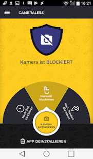 Cameraless – Kamera Blocker Screenshot