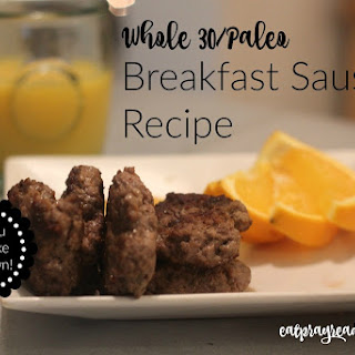 Best Paleo Breakfast Sausage.